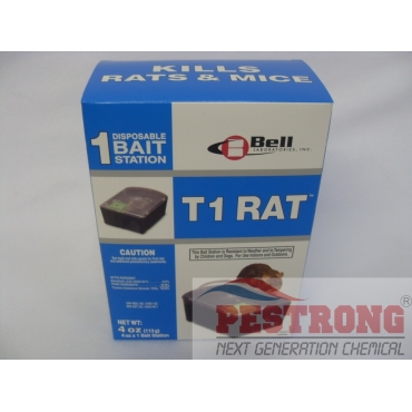 T1 Rat / Mouse Disposable Rodent Bait Stations - 1box (1each)