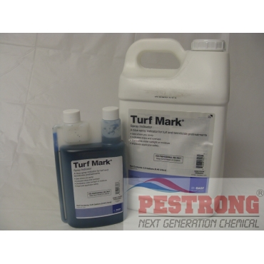 Turf Mark Spray Indicator Blue Colorant Dye - Qt - 2.5 Gallon