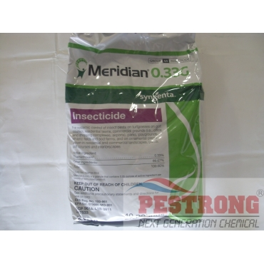 Meridian 0.33G Granules Lawn Insecticide - 40 Lb
