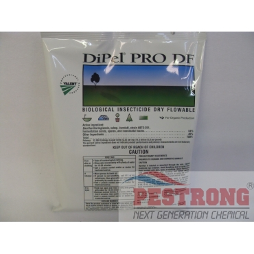 DiPel PRO DF Biological Insecticide BT Worms- 1Lb