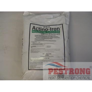 Actino-Iron Biological Fungicide with Iron and humic acid-50Lbs