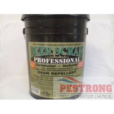 Deer Scram Professional Repellent-25Lbs
