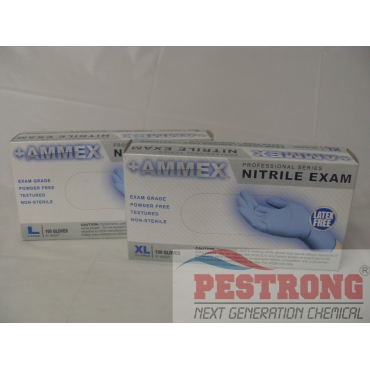 Nitrile Disposable Glove Exam Medical Grade - Box of 100