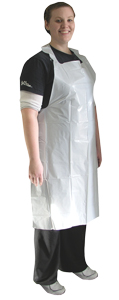 Poly Aprons Disposable Protector 1.75 ml - 50 ea