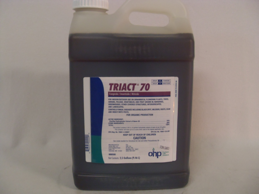 Triact 70 Neem Oil Triact 70 Neem Oil Fungicide Insecticide