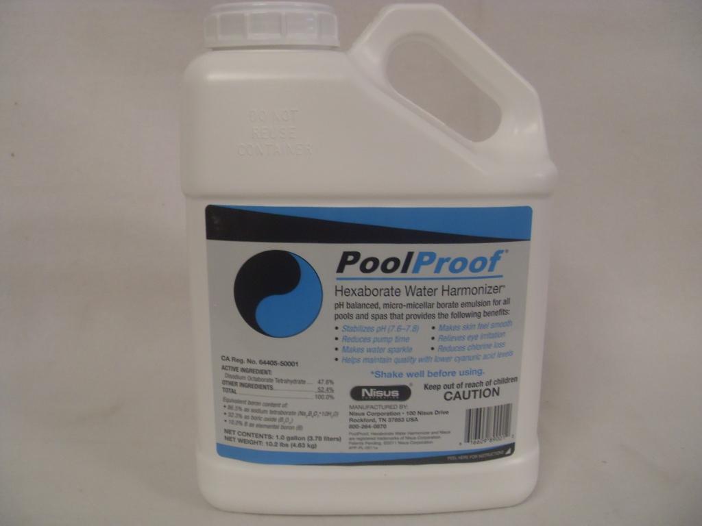 PoolProof Hexaborate Water Harmonizer - Gal