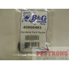B&G Fan Spray Tip & Tip Cap 43000493 for Poly Sprayer