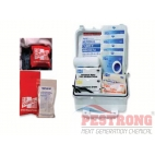 First Aid Kit Fits In A Vehicle Glove Box - Travel, 10 Person