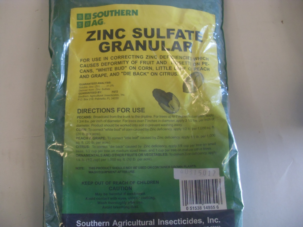 Southern Ag Zinc Sulfate Granular 5 lb