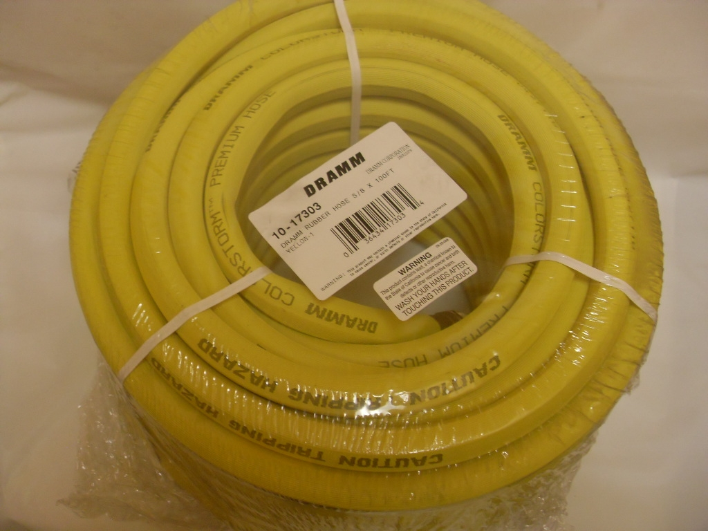 Merveilleux Dramm Rubber Hose, Dramm ColorStorm Professional Rubber Hose 5/8 In 100 Ft