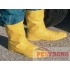 Rubber Boot Waterproof Shoe Covers - L - XL